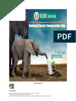 Idbi Go Green