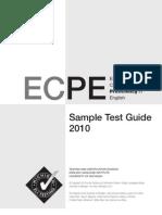 ECPE2010SampleTestGuide