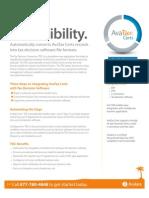AvaTax_Certs-Tax Decision Connector (TDC)