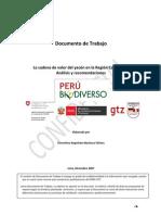 Análisis y recomendaciones en la cadena de valor del yacón en la región Cajamarca