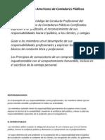 AICPA(Instituto Americano de Contadores Públicos Certificados