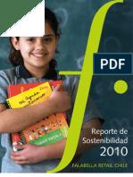 Reporte de Sostenibilidad 2010 Falabella