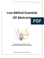 Five Biblical Essential Oils Abstracts.08