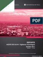 Reporte - ACEITE DE OLIVA _ Vigilancia Tecnológica  oct2011