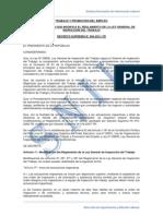 Ds 004-2011-TR Modifica Ley de Inspecciones Del Trabajo