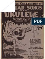 Remick Collection Popular Songs w Uke Acc. No 5 (1925)