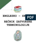 Englesko-srpski Recnik Zatvorske Terminologije