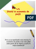 Rolul Statului in Economia de Piata
