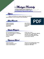 Curriculum Isaías Almánzar Fernández M