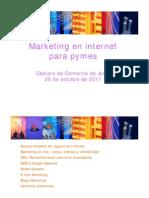 Marketing Online - Camara de Comercio de Jerez