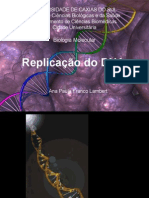 Aula 3 - Repliaçao do DNA