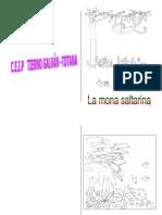 """Cuento Adaptado DAuditiva """"La Mona Saltarina"""""""