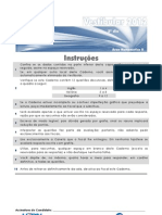5 Prova Discursiva Ufrn 2012 Gabarito