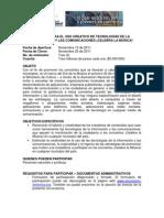CELEBRA LA MÚSICA PREMIOS PARA EL USO CREATIVO DE TECNOLOGÍAS DE LA INFORMACIÓN Y LAS COMUNICACIONES (1)