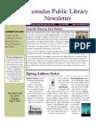 Library Newsletter Winter_2012