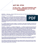 Philippine Electronics Code (Electronics and Communications Engineering Law of the Philippines)