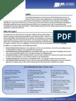 M-Logic Auditing Brochure 2011 Parcel