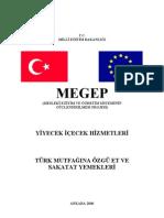 Turk Mutfagina Ozgu Etvesakatat Yemekleri