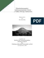 Polarisationsanalyse refraktionsseismischer Daten vom Vulkan Merapi, Indonesien