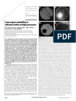 Eva Chamorro-Perez et al- Low argon solubility in silicate melts at high pressure