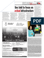 TheSun 2008-11-14 Page04 Varsities Told to Focus on Intellectual Infrastructure