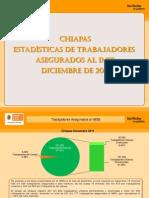 Estadisticas IMSS Diciembre 2011