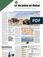 'Fuerza Inca' da pelea en Dakar