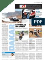 DAKAR, ESTRELLAS DE ARENA