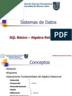 SQLBasico y Algebra Relacion Comparacion