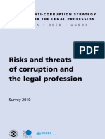 Risks and Threats Corruption Legal Profession