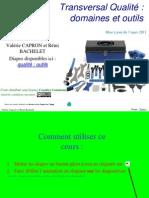 Qualite 3 Domaines Et Outils