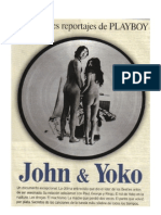 John & Yoko, último reportaje - por David Sheff