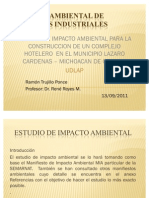 IEA proyecto hotelero