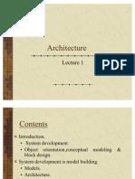 Lecture1 Architecture
