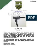 MPA 22 Manual