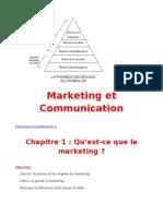Marketing cours Année
