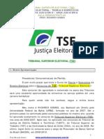 Dir. Eleitoral (área judiciária) - TSE - Ricardo Gomes - Aula 00