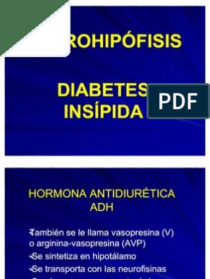 prueba de vasopresina adh para diabetes
