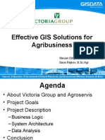 GDUC 2008 Effective GIS Solutions for Agribusiness