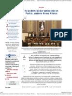 15-01-12 Econsulta - No Podemos Estar Satisfechos en Puebla, Sostiene Nueva Alianza