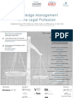 Knowledge Management for the Legal Profession