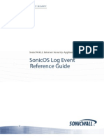 SonicOS Log Event Reference Guide-5.8