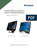 Manual de Servicio Lenovo C200 Procesador Atom D410