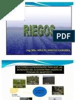01- AGROTECNIA -  RIEGOS