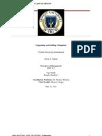 Principles of Management - Delegation