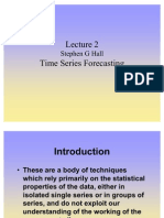 Lecture 2 Time Series Forecasting