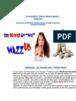 WazzUb Afiliate Gratis Gana Dinero 2012