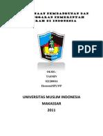 MakalahPerencanaan Pembangunan Dan Penganggaran Pemerintah Daerah Di Indonesia