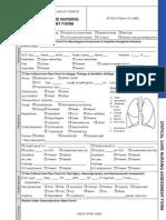 Critical Care Nursing Assessment Form - Copy