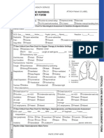 Critical Care Nursing Assessment Form - Copy